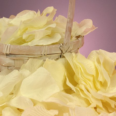 Ivory Off White Bulk 400 pcs Silk Flower Rose Petals Ivory Rose Petals