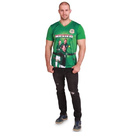 quality design e8855 40cb3 World Cup 2018 National Soccer Jersey, Mens Womens Kids Boys Shirt, Mexico  Men Team, Size: Men-XL | Walmart Canada
