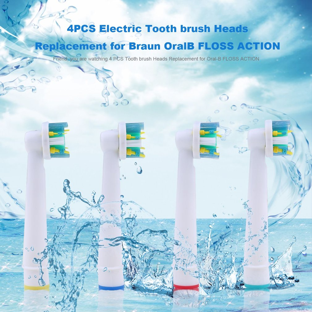 2017 New 4PCS Electric Tooth brush Heads Replacement for ...