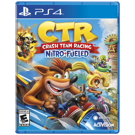 CTR - Crash Team Racing: Nitro Fueled, Activision, PlayStation 4, 047875883888