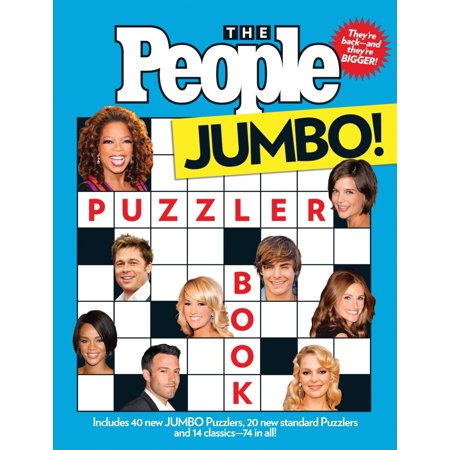 The People Puzzler Book : Jumbo Edition