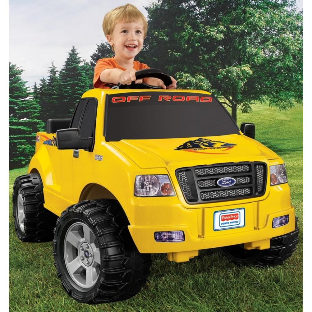 Power Wheels Lil' Ford F-150 6-Volt Battery-Powered Ride-On by Generic