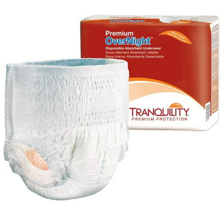 c03c08406d10 Adult Absorbent Underwear Tranquility® Premium OverNight™ Pull On 2X-Large Disposable  Heavy Absorbency - Walmart.com