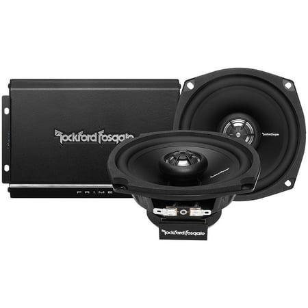 Rockford Fosgate R1HD29813 Rf 2 Ch Harley Amp Speakers