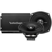 Rockford Fosgate R1HD29813 Rf 2 Ch Harley Amp Speakers Motorcycle