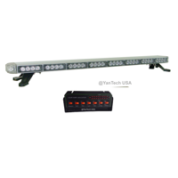 "50"" Amber LED Emergency Light Bar Flashing Tow/Plow Truck Wrecker w/ TAKE DOWN, ALLEY, BRAKE/TURN SIGNAL LIGHTS"