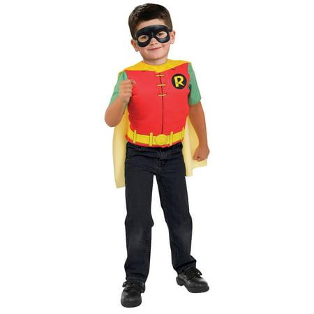 Boys Robin Deluxe Costume Top Set