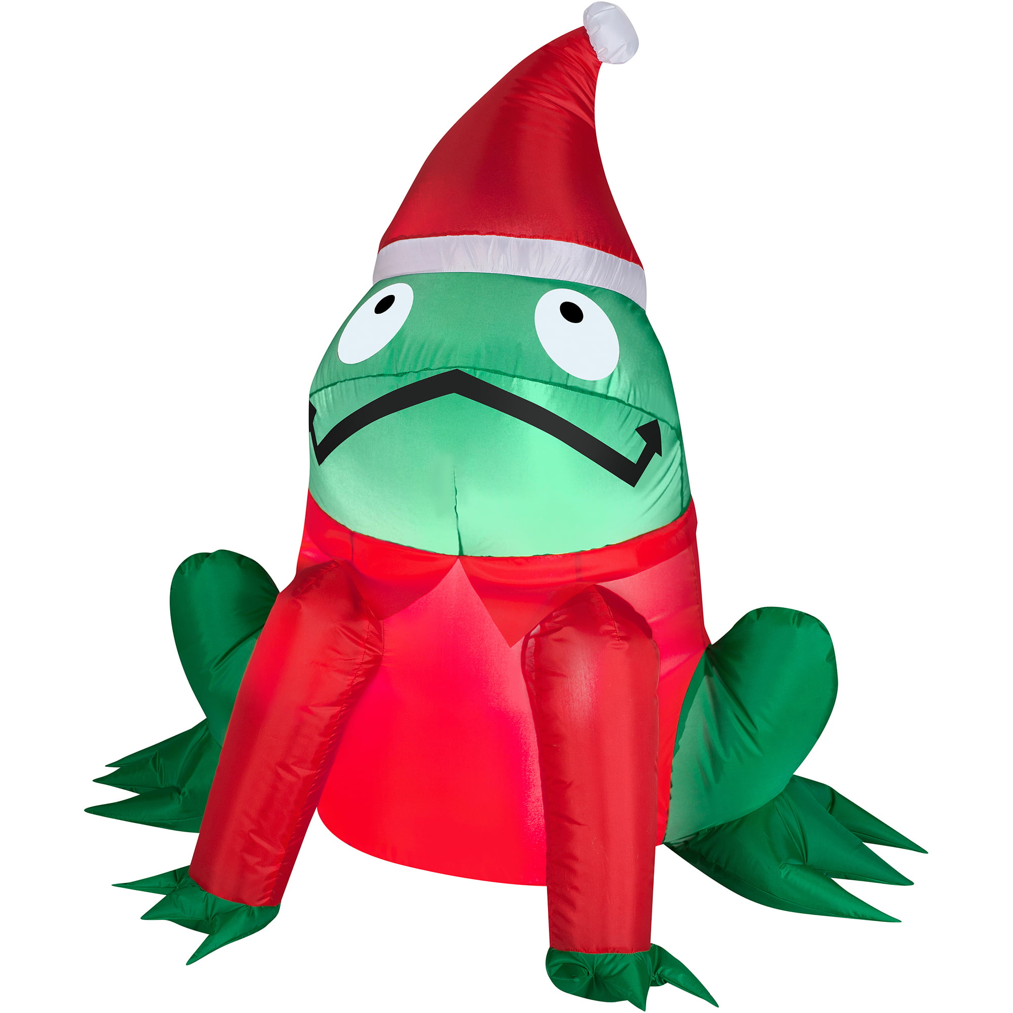 airblown inflatable 3 frog christmas prop walmartcom - Walmart Inflatable Christmas Decorations