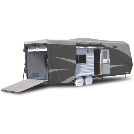 ADCO Toy Hauler Designer Series SFS Aqua Shed Top/Grey Polypropylene Sides