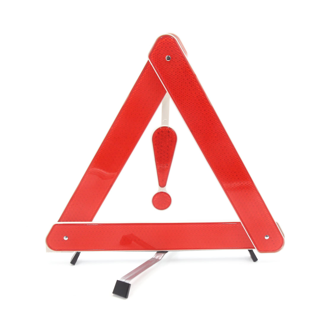 Triangle Foldable Reflective Safety Emergency Roadside Parking Sign for Car