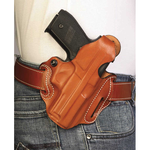 Desantis Thumb Break Scabbard Holster fits 4 1 2-Inch FN Herstal FNP-45, Right Hand, Tan Lined 001TC31Z0 Desantis by