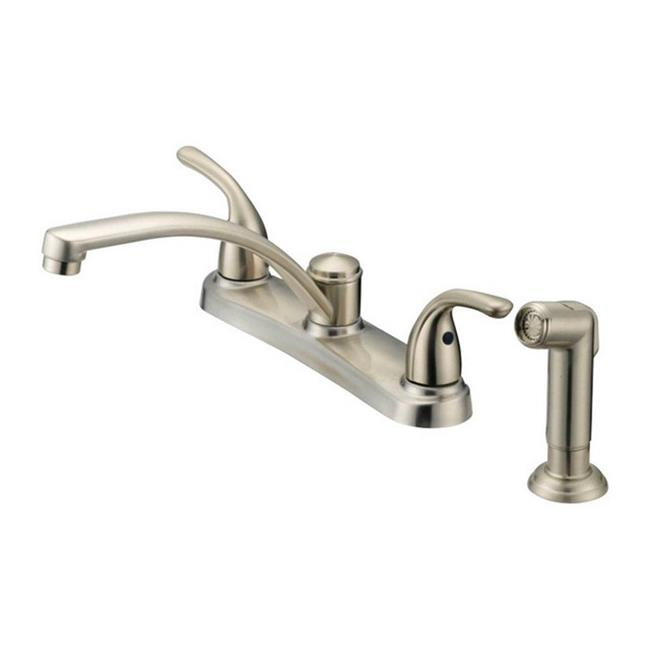 Oakbrook F8f11034nd Aca1 Coastal Series Brushed Nickel Two Handle