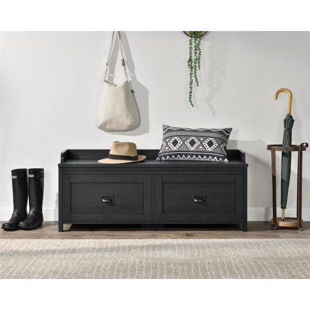 Better Homes Gardens Georgia Entryway Storage Bench Multiple Finishes