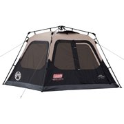 Coleman Cabin Tent with Instant Setup | Cabin Tent for Camping Sets Up in 60 Seconds (4 Person)