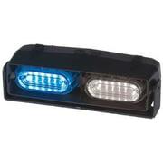 CODE 3 ESX2RD-BW Dual Hd Dash/Deck Light,LED,Blue/Wh,7 W