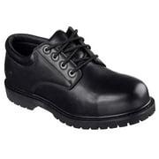 Skechers Work Men's Cottonwood Elks Lace Up Slip-Resistant Oxford Work Shoes