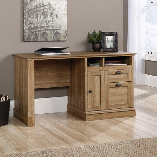 Sauder Barrister Lane Computer Desk, Scribed Oak by Sauder Woodworking