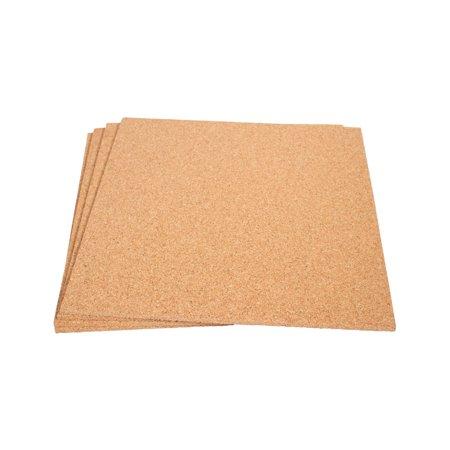 Cork Sheet: 4 Pack; 12