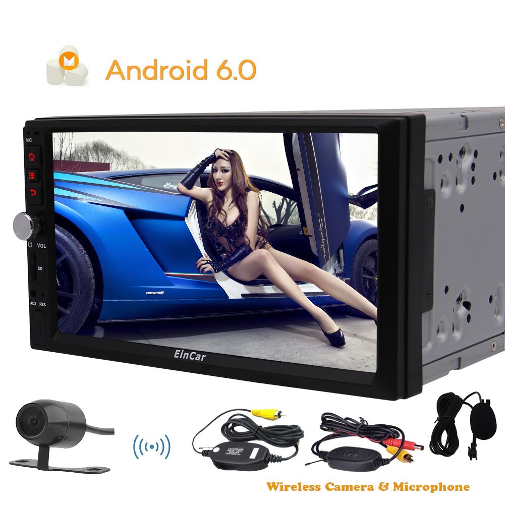 Android 6.0 Marshmallow Car Radio Audio Stereo Quad Core ...