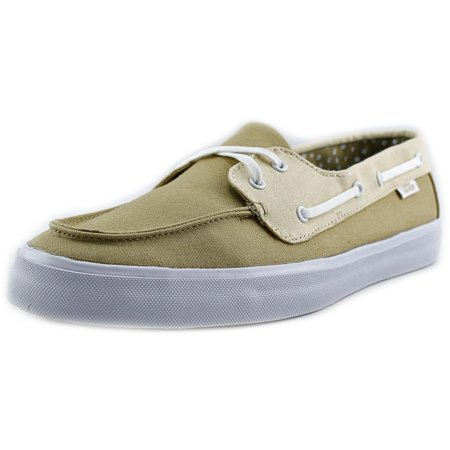 vans chauffeur blue boat shoes