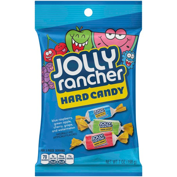 Jolly Rancher Assortment Hard Candy, 7 Oz.