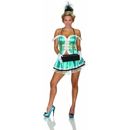 Delicious Cigars Cigarettes Girl Costume, Blue, X-Small