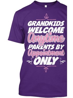728fd1f9c Product Image Grandkids Anytime Parents By Appointment Hanes Tagless Tee  T-Shirt