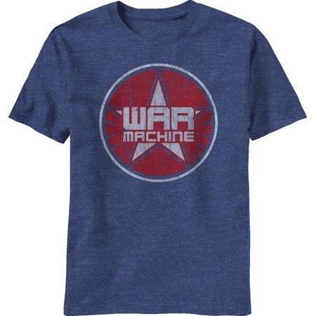 Iron Man 3 War Machine Logo Adult T-Shirt (Iron Man Suits For Kids)