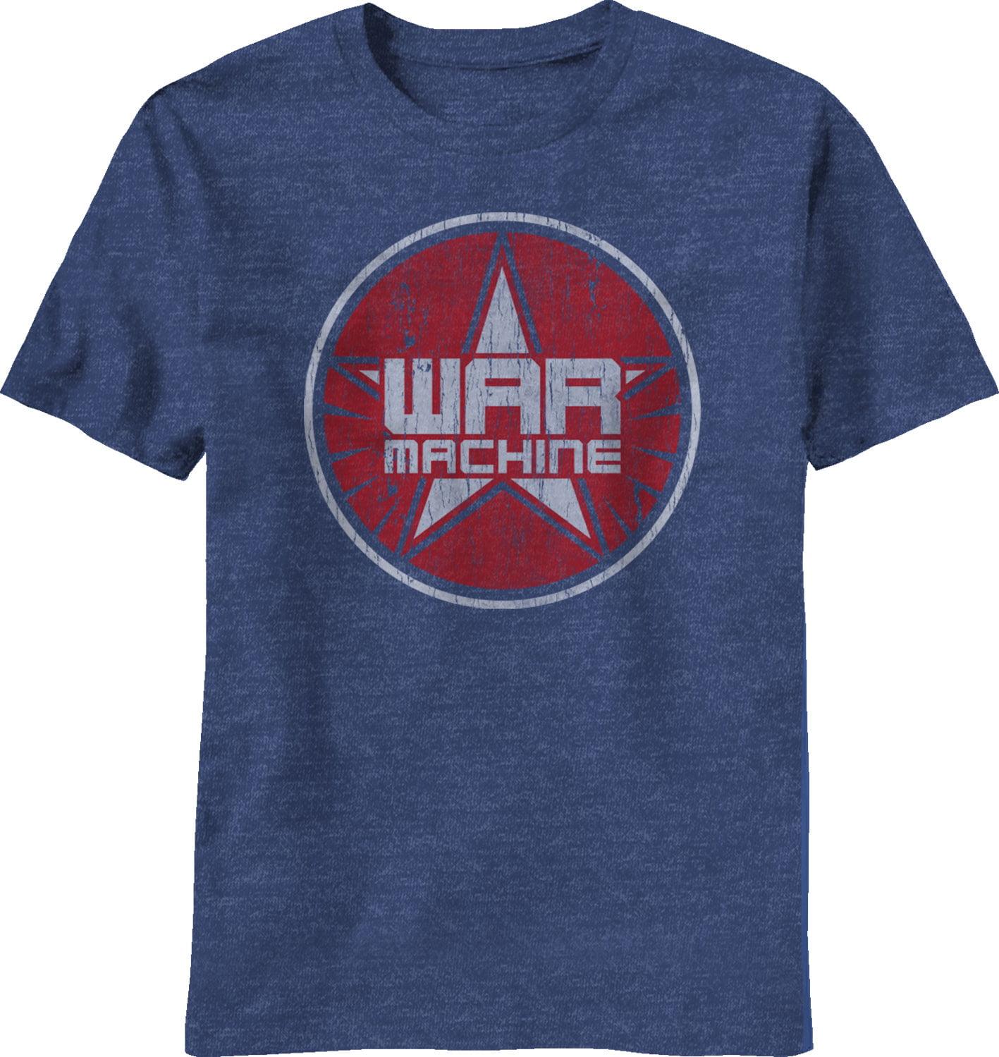 Iron Man 3 War Machine Logo Adult T-Shirt