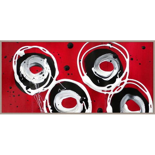 PTM Images Circles Gicl e Framed Painting Print