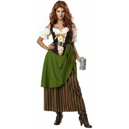 Gypsy Maiden Costume (Tavern Maiden Women's Adult Halloween)