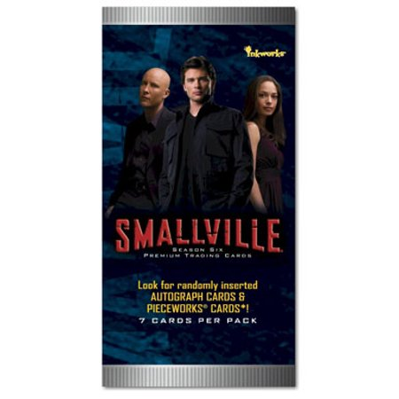 1- Smallville Season 6 Premium Trading Cards Sealed Pack Look for Randomly Inserted Autograph cards & Pieceworks Cards