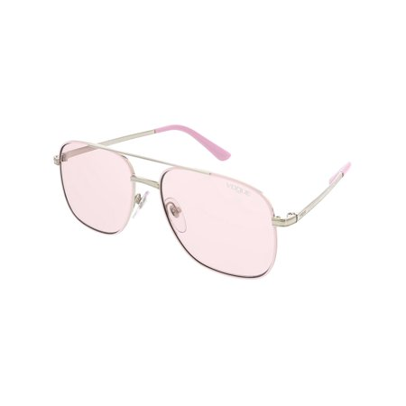 Vogue Women's Gigi Hadid VO4083S-323/5-55 Pink Aviator (Vogue Optical Sunglasses)