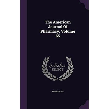 The American Journal Of Pharmacy  Volume 65