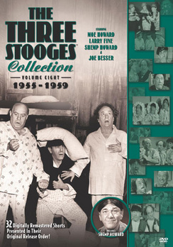 The Three Stooges Collection: Volume Eight 1955-1959 (DVD) by Sony Pictures Home