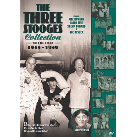 The Three Stooges Collection: Volume Eight 1955-1959 (DVD) - Three Stooges Halloween