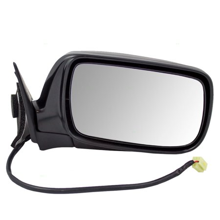 Pickup Mirror (Passengers Power Side View Mirror Replacement for Subaru Pickup Truck 91031AE96ANN )