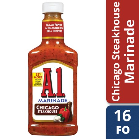 (2 Pack) A.1. Steakhouse Chicago Marinade, 16 oz Bottle