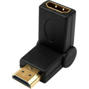 HDMI MALE TO HDMI FEMALE SWIVEL PORT SAVER ADAPTER 720P 1080P HDTV