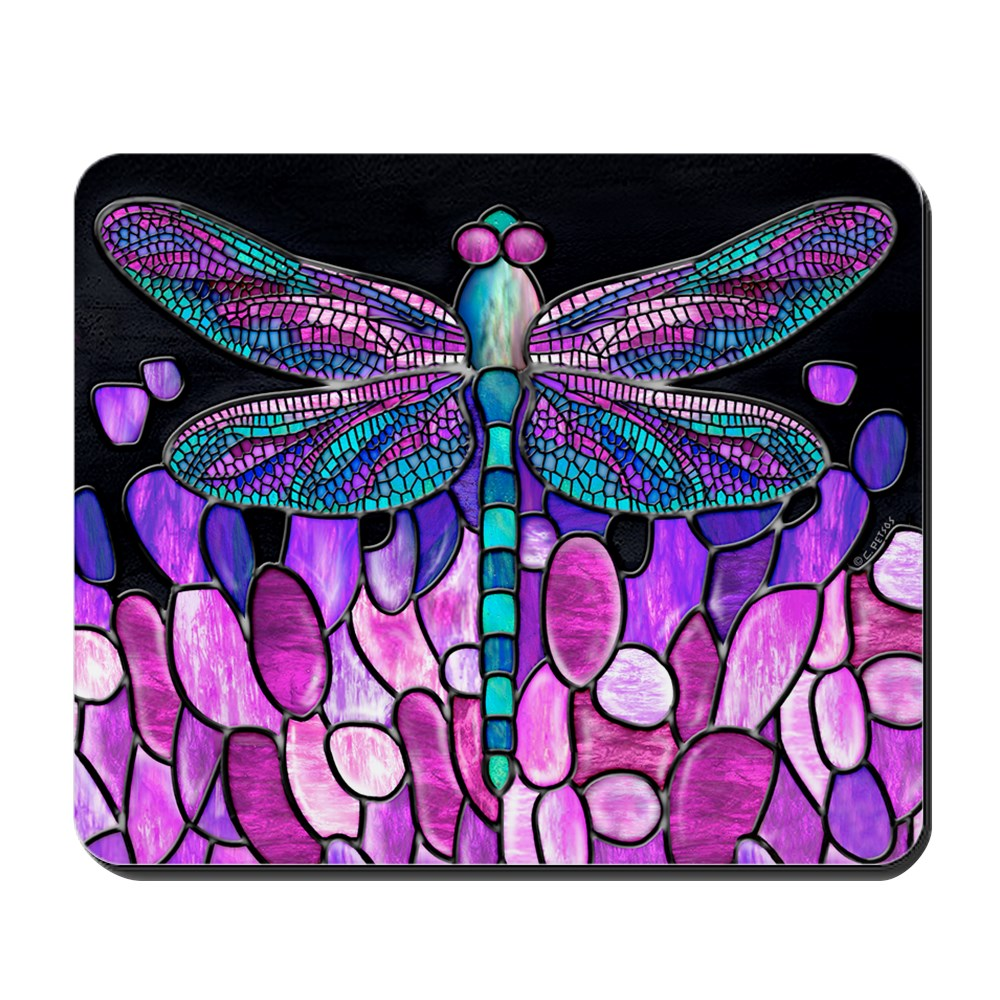 CafePress - Dragonfly - Non-slip Rubber Mousepad, Gaming Mouse Pad