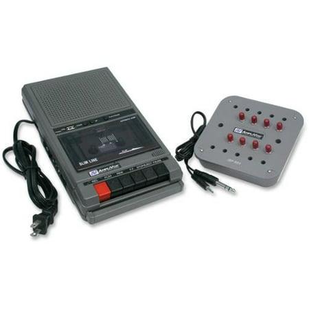 AmpliVox SL1039 Cassette Recorder 8 Station Listening Center Compact Cassette 2 W by