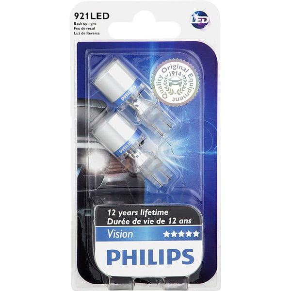 Philips 921 LED W16W 6000K Xenon White Back Up Light