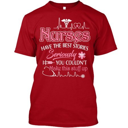 LIMITED EDT-NURSES HAVE THE BEST STORIES Hanes Tagless Tee T-Shirt