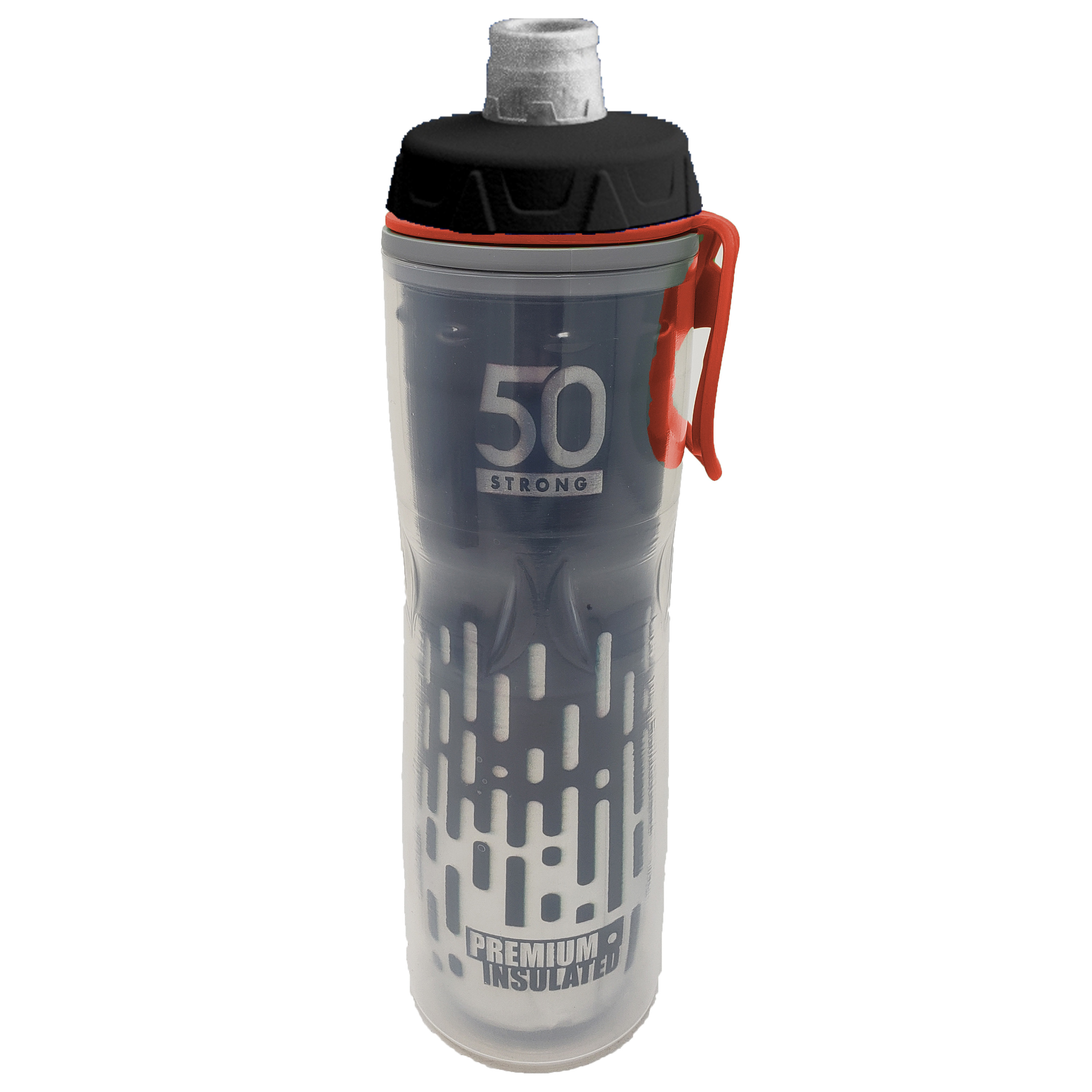 TYR Blender Bike Water Bicycle Bottle Clear 28oz