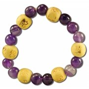 Zorbitz - Karma Kids Bracelets, Amethyst Wishes Dreams