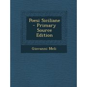 Poesi Siciliane