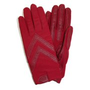Women's Unlined Leather Palm Driving Gloves (Pack of 2), Size: one sizeone size
