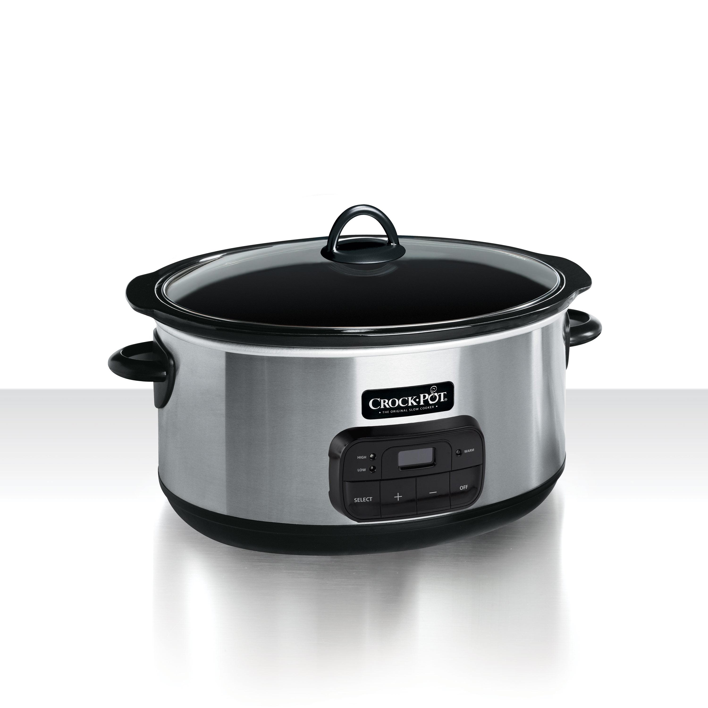 Crock-Pot Programmable Slow Cooker, 8-Quart (SCCPVZ800-S) by Crock-Pot