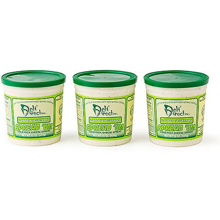 Deli Direct Spread 'Um Garden Vegetable Cheese Spread, 45 oz
