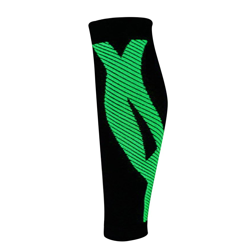LESHP 2pc Comfort Elastic Calf Support Guard Protector Leg Brace Wrap Sleeve - image 1 of 2